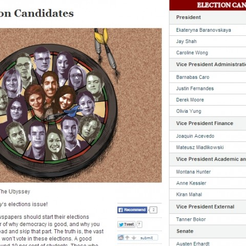 AMS Election Candidates